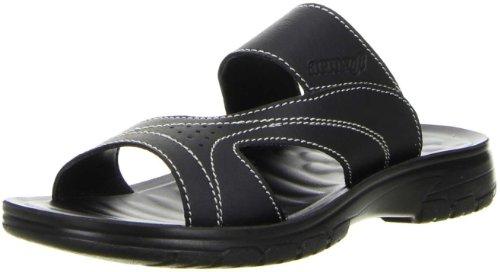 Aerosoft Herren Badeschuhe Pantoletten schwarz, Größe:41;Farbe:Schwarz