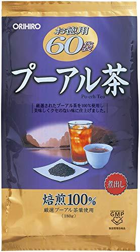 オリヒロ オリヒロ オリヒロ 徳用プーアル茶 1セット(60包×2個) お茶