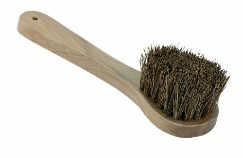 Paderno World Cuisine Wood Handled Wok Brush, 10-7/8-Inch Length