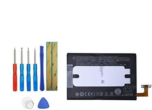 Upplus BOP6B100 - Batería de Repuesto Compatible con HTC One E8, M8, M8d, M8E, M8E Eye B0P6B100, 35H00214-00M, 35H00214-01M con Kit de Herramientas