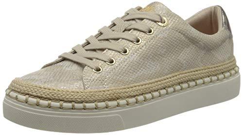 s.Oliver Damen 5-5-23609-24 Sneaker, Beige (CHAMPAG. Snake 497), 39