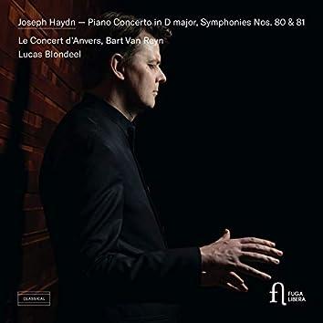 Haydn: Piano Concerto in D major, Symphonies Nos. 80 & 81