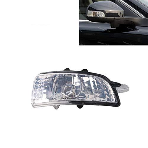 AN Claral 31111102 31111090 Fit for Volvo S40 S60 S80 C30 C70 V50 V70 2007 2008 2009 L R Spiegel Indikatoren Blinker-Licht-Lampe Objektiv NO-Birne (Color : Right)