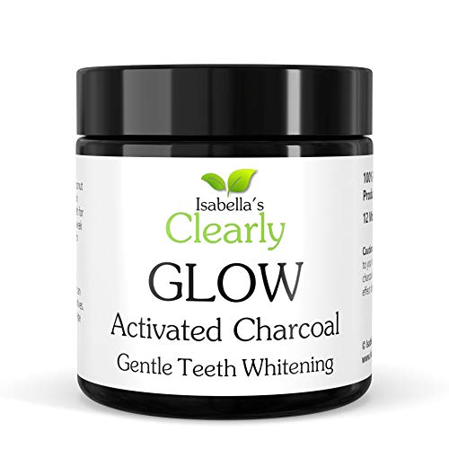 Clearly GLOW Teeth Whitening Activated Charcoal Powder - 100% Pure...