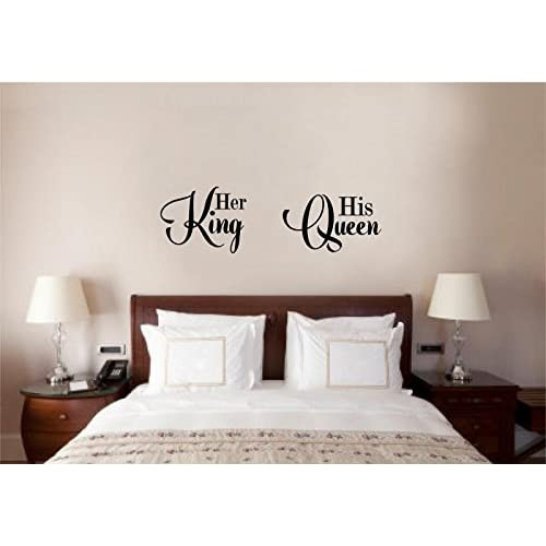 King And Queen Bedroom Decor Amazon Com