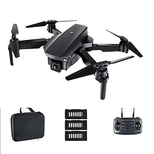 Drone 6K con videocamera HD per adulti, 5G WiFi FPV Live Video Drone pieghevole GPS con ritorno automatico a casa motore senza spazzole 2 batterie con 60 minuti di tempo di volo per principianti