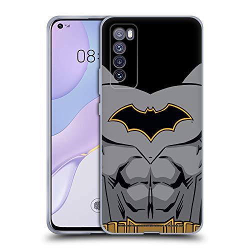 Head Case Designs Oficial Batman DC Comics Disfraz de Renacimiento Logotipos Carcasa de Gel de Silicona Compatible con Huawei Nova 7 5G
