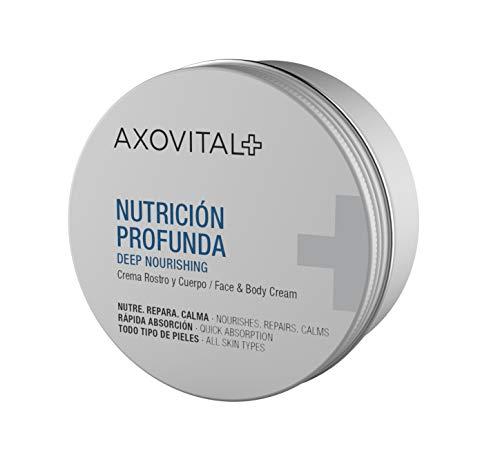 Axovital - Crema Hidratante 2 en 1 para Cara y Cuerpo - 250 ml.
