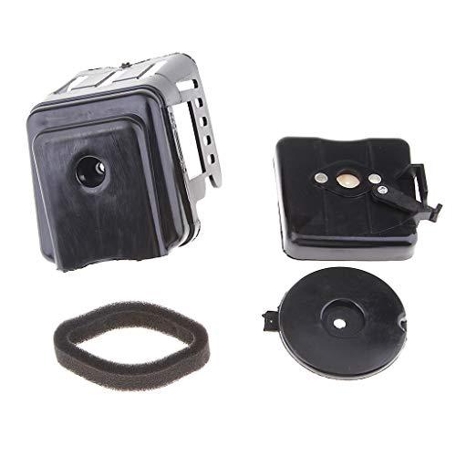 B Blesiya 1 caja de filtro de aire para motocicleta, repuesto de potencia total del motor para moto de 33 cc, 43 cc, 47 cc, 49 cc