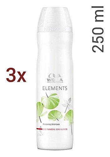 Wella Elements sulfatfreies Shampoo SET 3 x 250ml