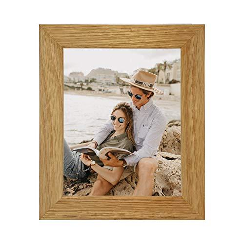 Echt Eiche natur massiv Holz Bilderrahmen und Poster Rahmen, alle Größen erhältlich, holz, A3