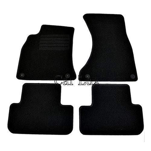 Car Lux – ar00335 tapis de voiture sur Mesure pour A4 B8 depuis en velours