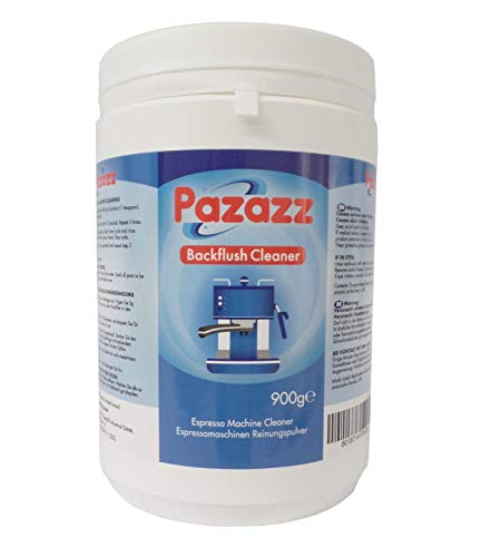 PAZAZZ Coffee Residue Remover & Backflush Cleaning Powder for Espresso Machine Group Head Grouphead