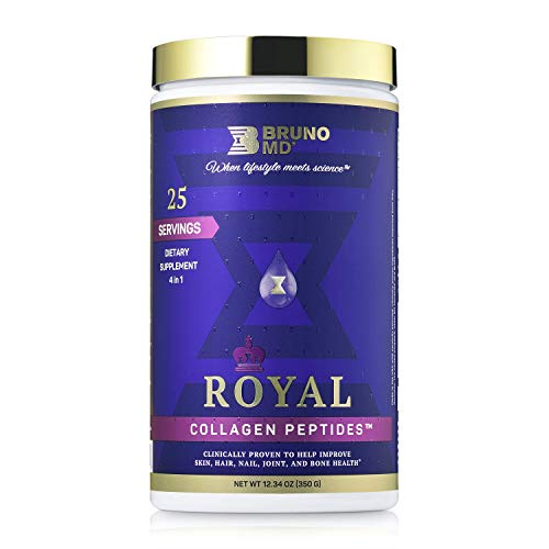 Bruno MD Royal Collagen Peptides, Clinically proven, Dietary Supplement