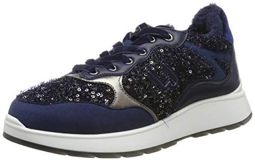 Liu Jo Shoes Asia 06 Sneaker, Scarpe da Ginnastica Donna, Blu Marine, 35 EU