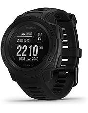 Garmin Instinct Tactical - Reloj resistente con GPS y funciones tácticas, Negro