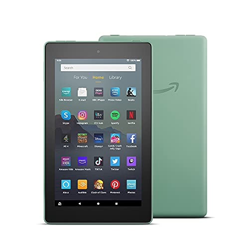 Fire 7 Tablet   7' display, 16 GB, Sage - with Ads