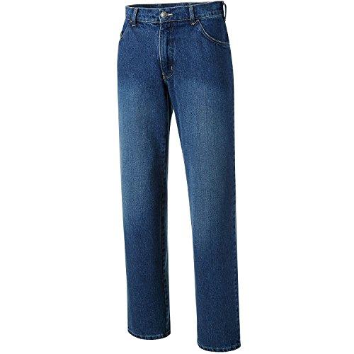 PIONIER WORKWEAR Herren 5-Pocket-Jeans mit Zollstocktasche in blau (Art.-Nr. 324) blue,Größe 0000