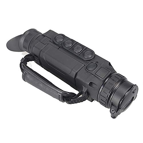 QNMM Nacht-Wärmebildkamera Nachtjagd Monokulare Nachtsichtbrille Bildstabilisierung, Entfernungsmesser Geeignet für Jagdreisen