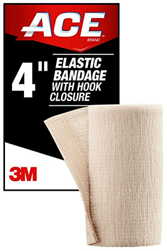 ACE 4' Elastic Bandage with Hook Closure, Beige