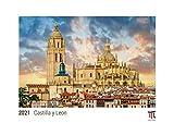 Castilla y Leon 2021 - Edición Blanca - Timokrates calendario de pared, calendario de fotos - DIN A3 (42 x 30 cm)