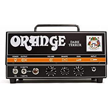 Orange Amplifiers DA15H Dark Terror 15 15W Tube Guitar Amp Head