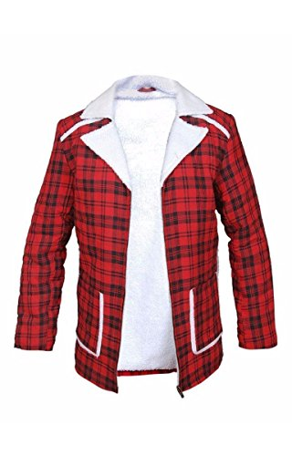 New Deadpool Ryan Reynolds Shearling Jacket coat L