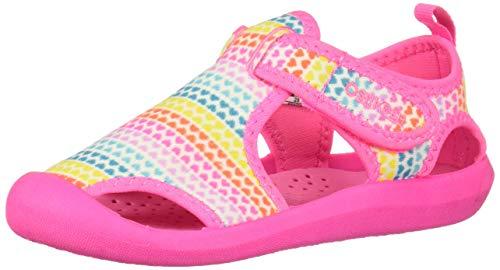 OshKosh B'Gosh Baby-Girl's Aquatic Boy's Water Shoe, Rainbow, 8 M US Toddler