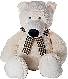 Oso polar de peluche stuffed animal polar bear plush toy de 42 cm Para el bebé o los niños