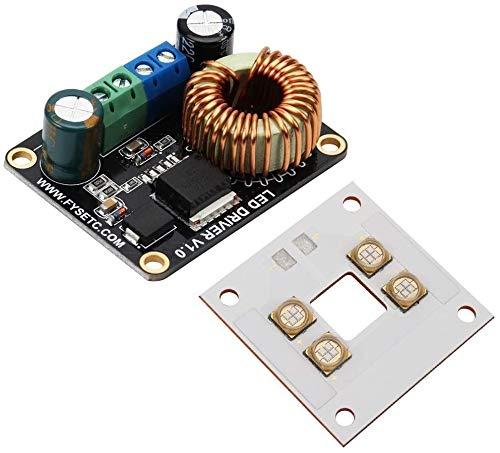 YINCHIE Mukuai54 Tablero de Controlador LED 30W + Lámpara de Placa de...