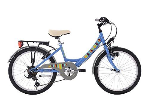 KS Cycling Kinderfahrrad 20'' Gurlz blau RH31cm