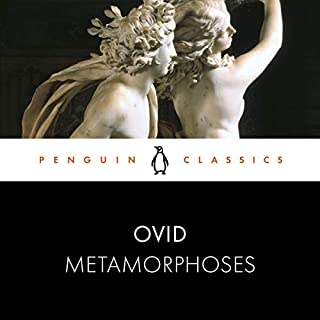 Metamorphoses audiobook cover art