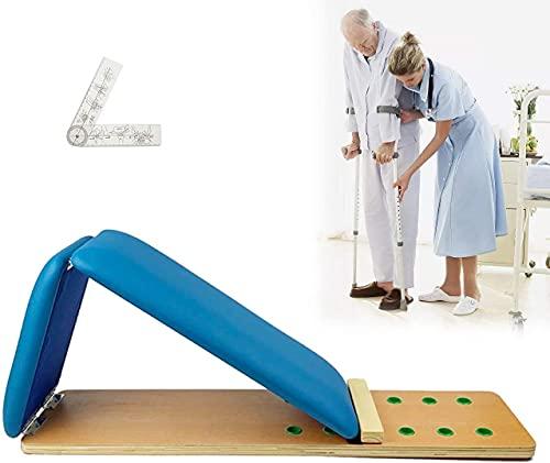XJYDS Soporte de la rehabilitación de la rehabilitación de la rehabilitación de la rehabilitación de la rodilla, la configuración de 7 ángulos, acelera el tiempo de recuperación, la artritis Soporte d
