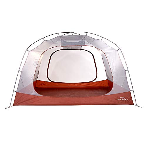 KLYMIT Cross Canyon 4 Person Tent, Best Camping Gear for Family Camping, Backpacking, and Hiking