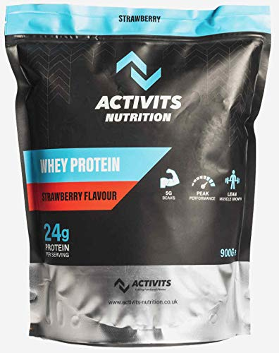 Activits Nutrition Performance Whey Protein 900g. (Strawberry)