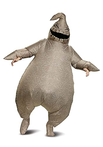 Disguise Nightmare Before Christmas Oogie Boogie Inflatable Costume Standard Gray