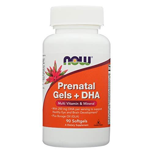 Gels Prénataux + DHA, 90 Gélules