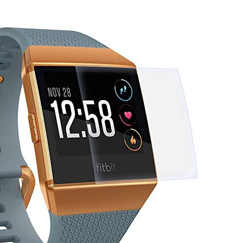Preisvergleich Produktbild zanasta Schutzfolie kompatibel mit Fitbit Ionic Displayschutzfolie Nano Schutz Folie / Volle Abdeckung,  Klar Transparent
