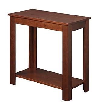 Convenience Concepts Designs2Go Baja Chairside End Table Mahogany
