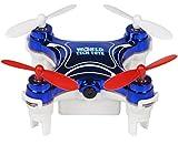 World Tech Toys Nemo 2.4 GHz 4.5 CH Camera Spy Drone Blue