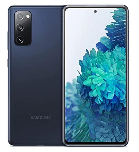 Samsung Smartphone Galaxy S20 FE con Pantalla Infinity-O FHD+ de 6,5 Pulgadas, 6 GB de RAM y 128 GB de Memoria Interna Ampliable, Batería de 4500 mAh y Carga rápida Azul (Version ES)