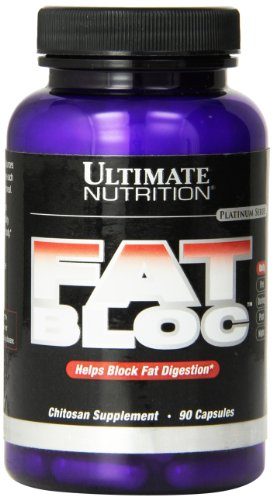 Universal Nutrition Fat Bloc - 500mg Chitosan, Standard, 1er Pack (1 x 90 Kapseln)