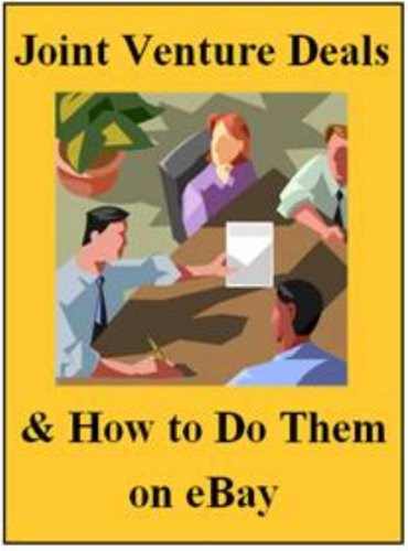 Joint Venture Deals and How to Do Them on eBay (English Edition)