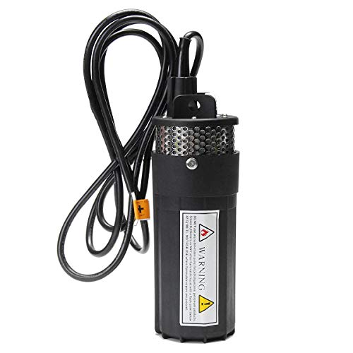 SISHUINIANHUA 12V DC Electric Submersible Pump 70M High Lift Deep Well Pump for Solar Panel High Pressure Diaphragm Water Pump Water Sprayer