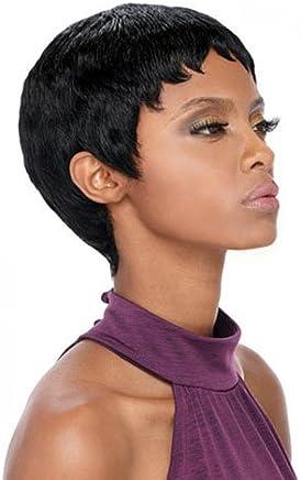 Outre Premium Duby Human Hair Wig - PIXIE ( 1B) fefbbf4ff90a