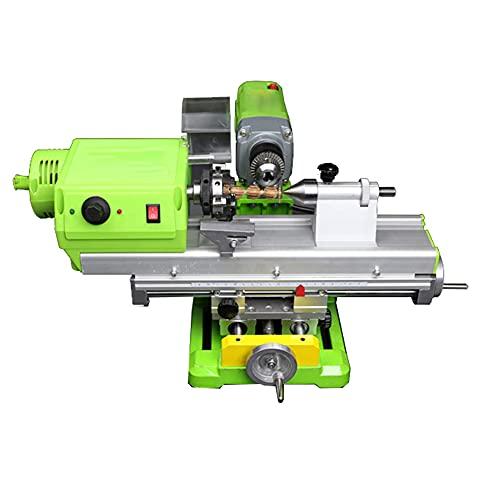 Torno de mesa Máquina pulidora de cuentas Mecanizado CNC para carpintería Madera Herramienta de bricolaje Juego de torno Máquina de pulir cuentas Escritorio Carpintería Madera