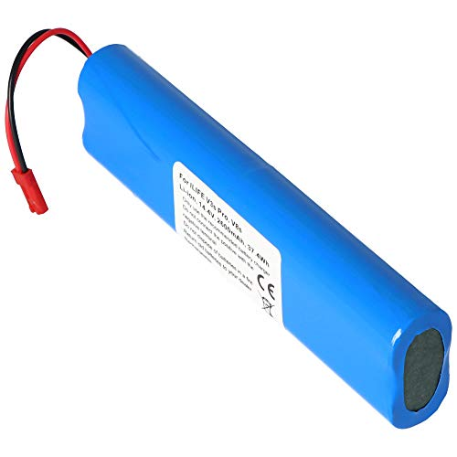 Batería para ILIFE V3s Pro, V8s, Ion de Litio, 14,4 V, 2600 mAh, 37,4 WH