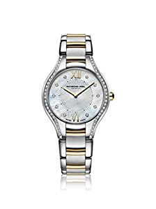 Raymond Weil Noemia Mother Of Pearl Diamond Dial Two Tone Stainless Steel Ladies Watch 5132-SPS-00985 image