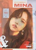 TWICE(トゥワイス ) MINA ミナ A4クリアファイル K 韓国 ap03