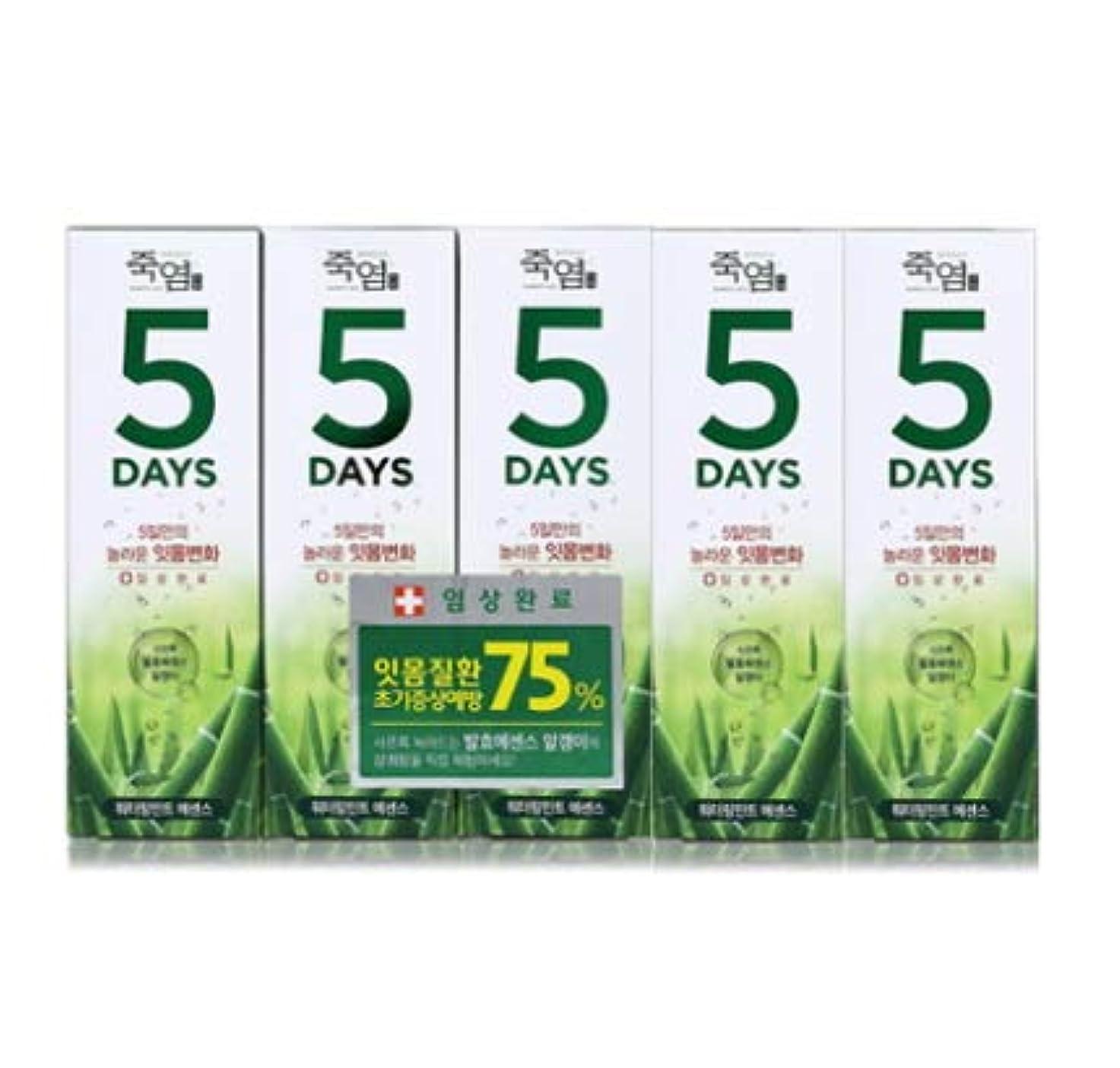 ヘルパー特権的契約した[LG Care/LG生活健康]竹塩歯磨き粉5daysウォーターリングミント100g x5ea/歯磨きセットスペシャル?リミテッドToothpaste Set Special Limited Korea(海外直送品)